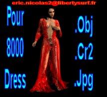 Free 8000 Dress Cr2/Obj/Trans by RIC
